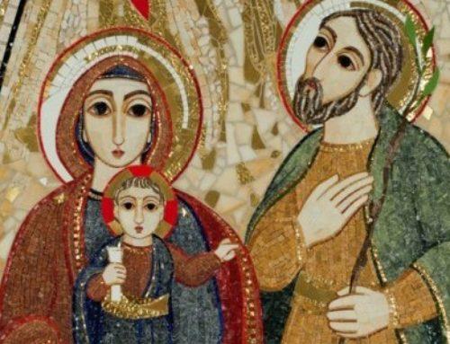 Družinsko bogoslužje ob podobi Svete družine